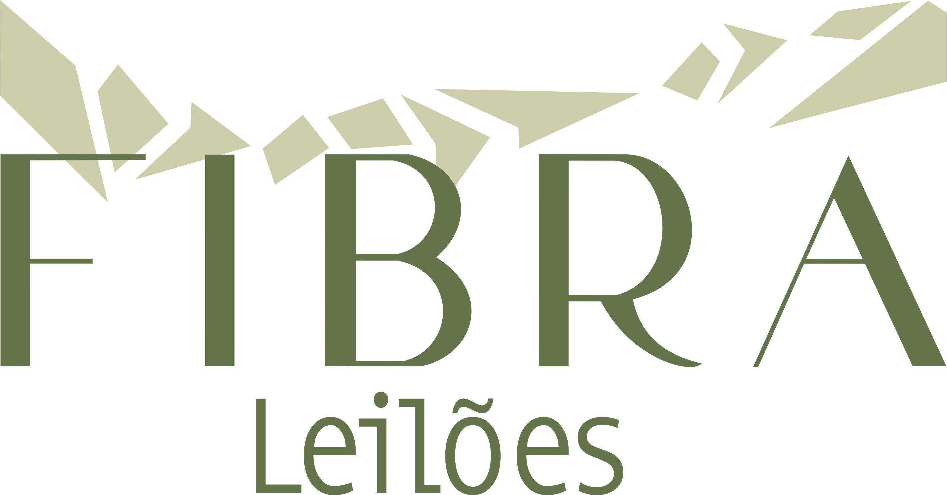 logomarca Fibra leiloes
